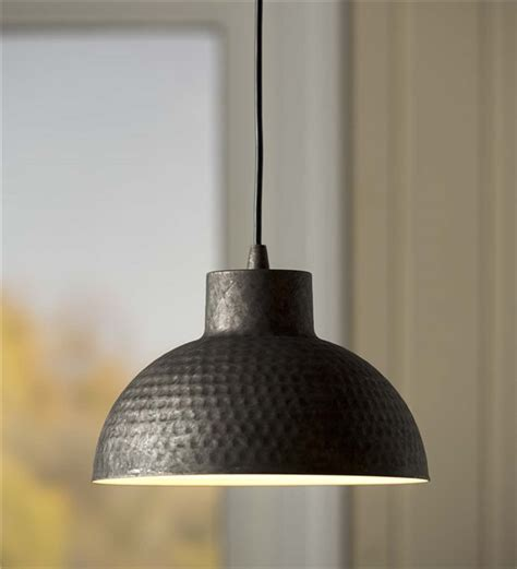 dome pendant light hammered galvanized dome pendant light ls lighting