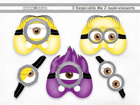 minion mask template the world s catalog of ideas