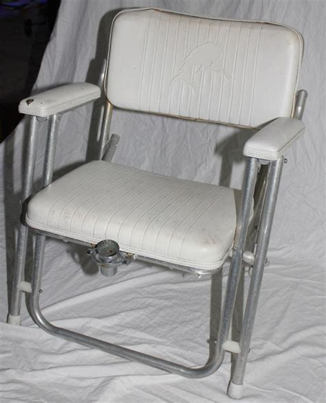 purchase garelick mariner boat deck chair folding seat