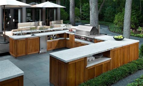 Outdoor Kitchen Tile by 21 Kitchen Countertop Designs Ideas Design Trends