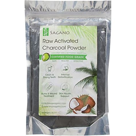 How To Use Activated Charcoal Powder For Detox by Activated Charcoal Powder By Sagano Organic Coconut