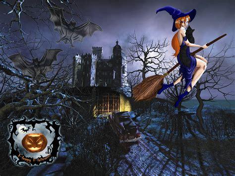 imagenes de halloween y brujas halloween