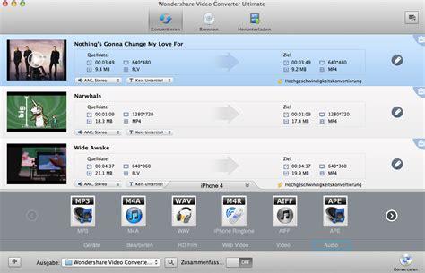 format audio mac wie sie mp4 in mp3 umwandeln