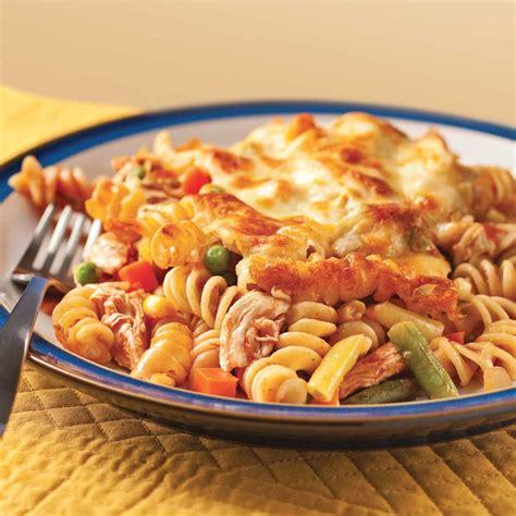 gratin de p 226 tes et poulet 224 la salsa soupers de semaine recettes 5 15 recettes express 5