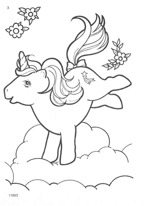 vintage my little pony coloring pages my little pony g1 coloring pages flickr photo sharing
