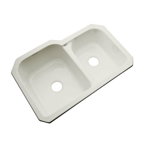 acrylic undermount kitchen sinks thermocast cambridge undermount acrylic 33 in 0 hole