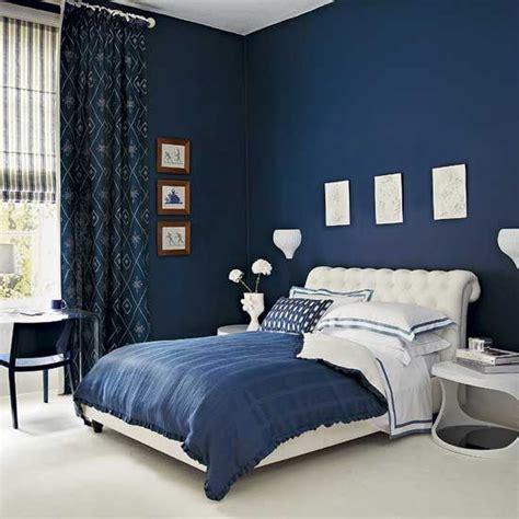 imagenes cuartos oscuros habitacion pintada de azul oscuro decoracion pinterest