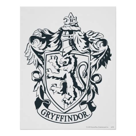 hogwarts coat of arms coloring pages
