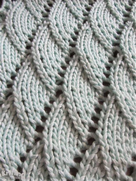 make one stitch knitting saturday stitches overlapping waves