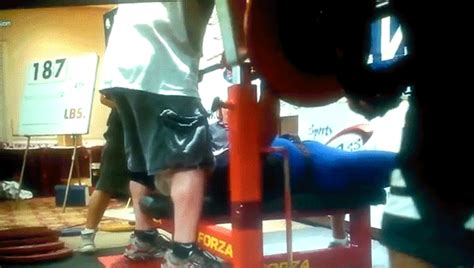 world record bench press 15 year old watch a 91 year old weightlifter bench press 187 pounds