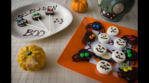 imagenes galletas halloween ideas para halloween con galletas oreo cocinar con ni 241 os