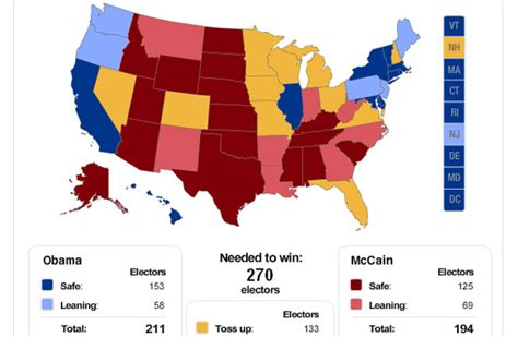electoral college swing states what does obama s lead in swing states mean cafferty