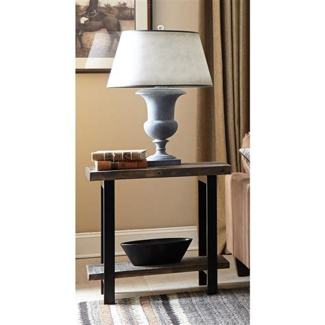Home Depot Pomona by Alaterre Furniture Pomona Rustic End Table