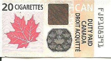 canada tobacco duty tax stamps stamp community forum