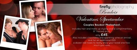 valentines experience days valentines day photoshoot special offer from firefly