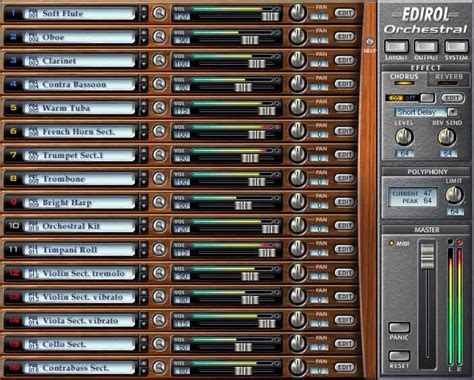 Vst The Orchestra kvr orchestral by edirol sound module vst plugin and directx plugin