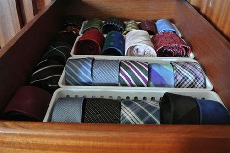como organizar corbatas  como organizar la casa