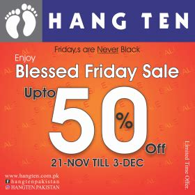 Sale Hang Ten by Avail The Sale Season With This Comprehensive Black Friday