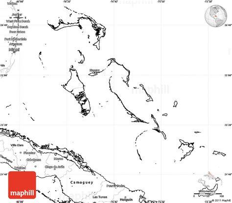 bahamas map coloring page blank map bahamas
