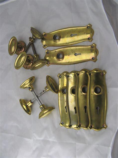 Brass Door Antique by Antiques Atlas Edwardian Set Of Brass Door Furniture For