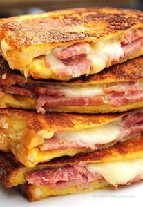 How To Make Bacon In The Toaster Oven Monte Cristo Sandwich She Wears Many Hats