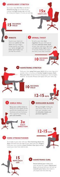 a workout at work the washington post office chairs workout and exercises