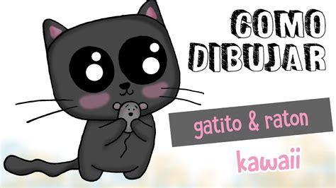 imagenes kawaii para dibujar facil como dibujar gatito kawaii dibujo f 225 cil para ni 241 os youtube