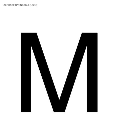 printable alphabet letter m black alphabet letters alphabet printables org