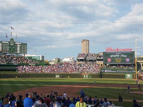 wrigley field bleacher seats wrigley field bleachers baseball seating rateyourseats