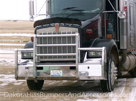 kenworth truck accessories dakota hills bumpers accessories kenworth aluminum truck