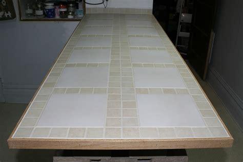 Build Tile Countertop diy kitchen island jeffs reviews