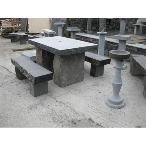 stone table and benches limestone square tables stone table stone benches stone