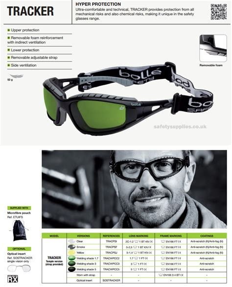 Timberland Tracking Safety bolle tracker safety safety glasses protective eyewear