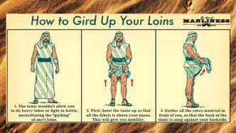 how to gird your loins infographic holy kaw
