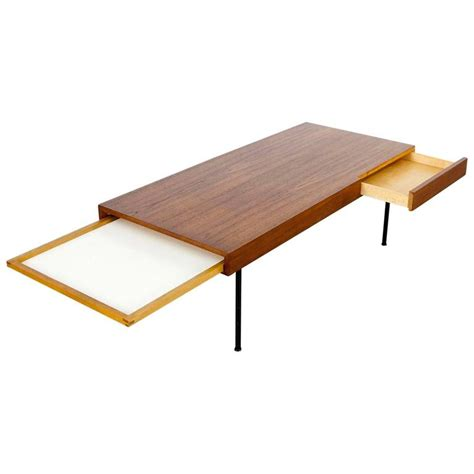 George Nelson Coffee Table Teak Coffee Table 4652 By George Nelson Herman Miller At 1stdibs