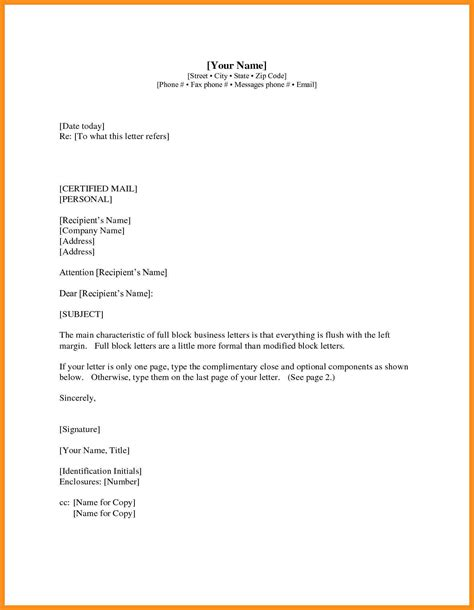 business letter attachment format 8 sle attachment letter agenda exle