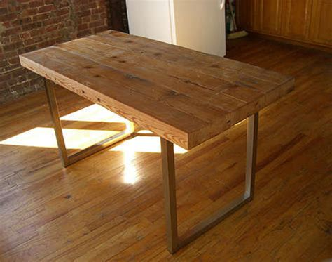 Diy How To Make Your Own Reclaimed Wood Desk From Scrap How To Make A Desk
