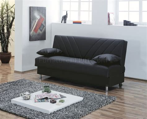 Bunk Beds Halifax Halifax Sofa Bed Convertible In Black Bonded Leather