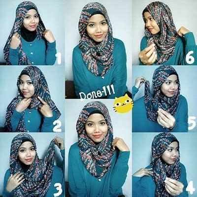tutorial hijab paris elegan 10 tutorial hijab paris simpel elegan kekinian terbaru 2017