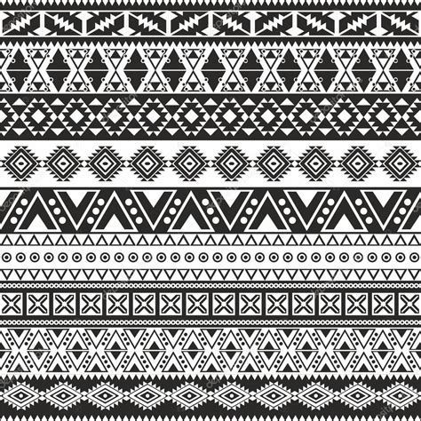 black and white aztec wallpaper tribal seamless pattern aztec black and white background