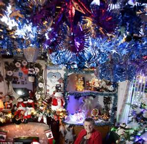 christmas mad pensioners spend 163 10 000 transforming their