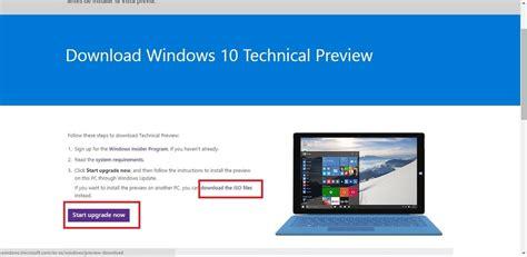 imagenes iso de windows 10 c 243 mo descargar e instalar el nuevo windows 10 technical