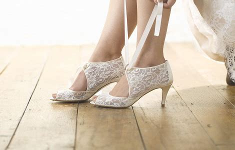 Wedding Shoes Vintage by Wedding Shoes Bridal Shoes And Wedding Heels Lace And