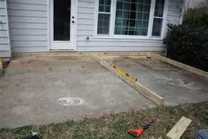 Build A Concrete Patio by Woodwork Build Wood Deck Over Concrete Pdf Plans