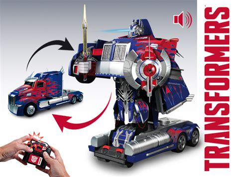 Mainan Rc Autobots nikko rc autobot optimus prime converting robot changes