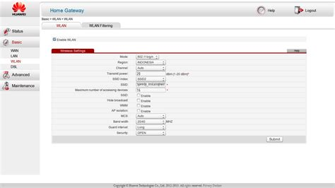 Router Speedy Instan menghilangkan ssid speedy instant dan flashzone di modem huawei hg532e 171 jaranguda