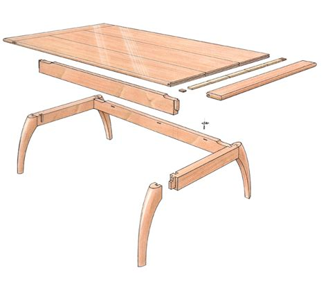 Free Wood Coffee Table Plans Free Plan Mahogany Coffee Table Finewoodworking