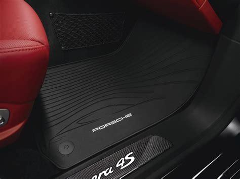 Porsche Car Mats by Porsche Panamera All Weather Floor Mats