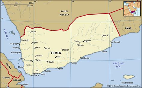 yemen history map flag population capital facts