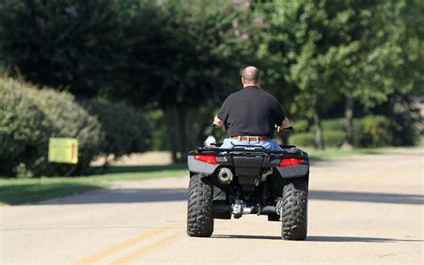 roads put atv s at risk glaser and ebbs attorneys